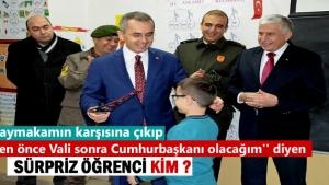 Tosya'da Karne dağıtım töreninde yaşanan ilginç olay