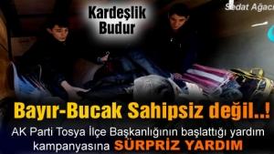 TOSYA BAYIR-BUCAK TÜRKMENLERİNİ UNUTMADI