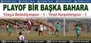 Tosya Belediyespor - Yeşil Kırşehirspor Maç Özeti