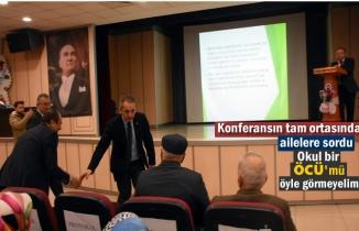 Tosya'da Okul Aile İşbirliği Konferansı Düzenlendi