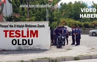 Tosya'da Silahlı Çatışmada 2 kişiyi öldüren Cinayet zanlısı Teslim Oldu
