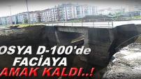TOSYA D-100'DE FACİAYA RAMAK KALDI