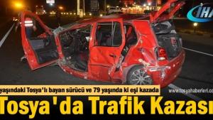 Tosya Trafik Kazası 1 Ölü