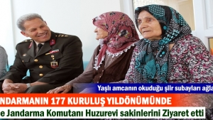 TOSYA İLÇE JANDARMA HUZUREVİ ZİYARETİ