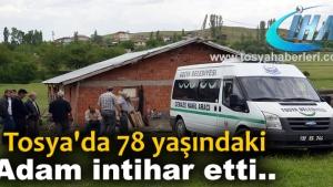 - TOSYA'DA 78 YAŞINDAKİ YAŞLI ADAM KENDİNİ ASTI