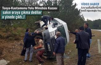 Kastamonu-Tosya Yolu Trafik Kazası