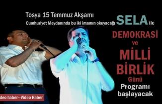 Tosya'da 15 Temmuz Demokrasi ve Milli Birlik Günü