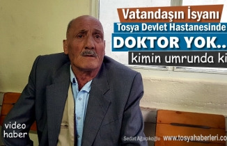 Tosya Devlet Hastanesi Göğüs Doktoru 1,5 Yıldır Yok