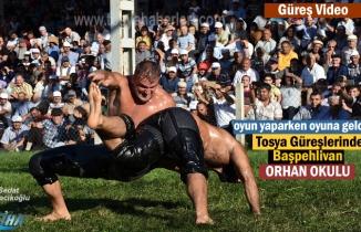 Tosya Güreşlerinde Başpehlivan Orhan Okulu oldu