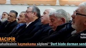 Hacıpir Mahallesi Halkla buluşma toplantısı