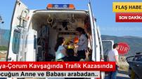 TOSYA D-100'DE TRAFİK KAZASINDA 3 KİŞİ YARALANDI