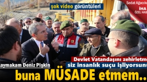 Tosya'da İzinsiz Maden Ocaklarına Köylülerin İsyanı