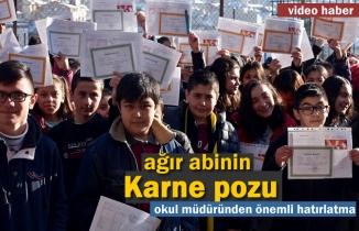Tosya Fatih Ortaokulunda Karne Heyecanı