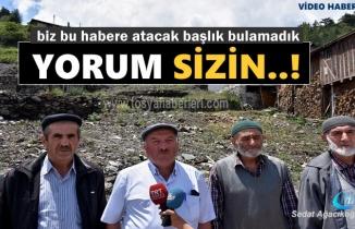 Tosya'da 8 Ev ve 1 Kişinin Yanarak hayatını kaybettiği Köyde Vatandaşlar