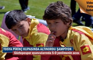 Tosya Pirinç Kupasında Altınorduspor Şampiyon