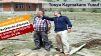 TOSYA KAYMAKAMI SULUCA AFET KONUTLARINDA İNCELEMEDE BULUNDU