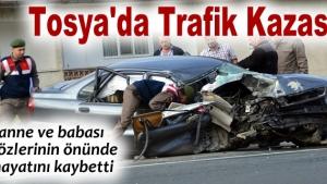 Otomobil TIR'a çarptı: 2 ölü, 2 ağır yaralı
