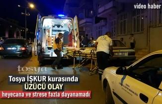 Tosya İŞKUR kurasında bir kişi Bayıldı