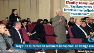 Tosya'da Evde Sağlık Hizmetlerinde Sosyal Yaklaşımlar Sempozyumu Düzenlendi
