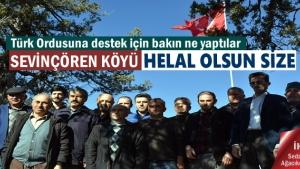 Tosya'nın en yüksek tepesine bayrak diktiler