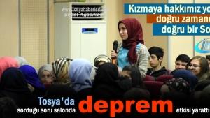 Tosya'da Deprem Haftası Programı