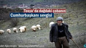 Dağdaki Çobanın Cumhurbaşkanı Recep Tayyip Erdoğan Sevgisi