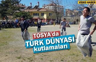 Tosya'da Türk Dünyası Kutlamaları