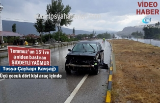 Tosya - Çaykapı Köyü Kavşağında Trafik Kazası