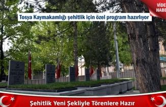 Tosya'da Şehitlik Yeniden Düzenlendi