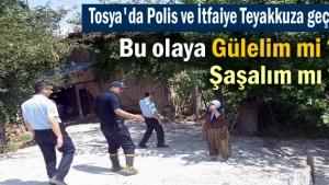 Tosya'da ilginç yangın haberi