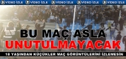 Tosya Belediyespor-Kırıkkalespor Maç Sonrası Olay Görüntüleri