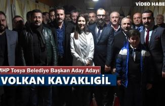 MHP TOSYA BELEDİYE BAŞKANI ADAY ADAYI VOLKAN KAVAKLIGİL