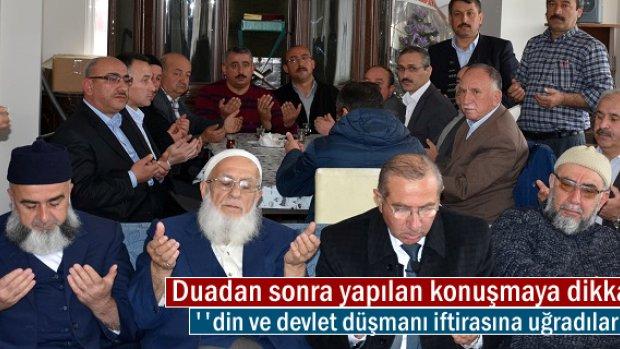 Tosya'da İmamlar tayini çıkan imamlar için helallik istedi