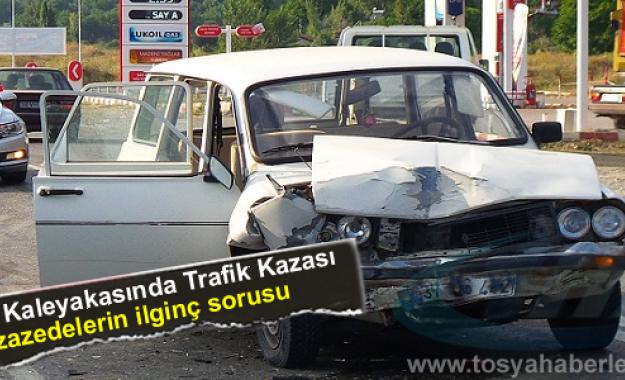 TOSYA-KASTAMONU YOLUNDA TRAFİK KAZASI