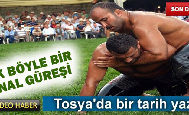 TOSYA YAĞLI GÜREŞ FİNAL