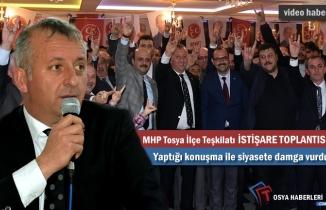 MHPTOSYA İLÇE BAŞKANLIĞI İSTİŞARE TOPLANTISI