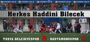 Tosya Belediye Spor KastamonuSpor'u 2-1 Yendi