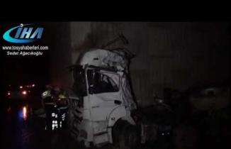 Tosya Organize Sanayi TIR Kazası