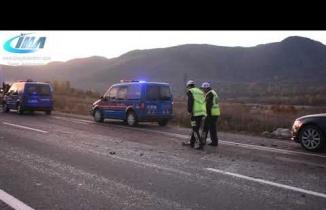 Tosya'da Otobüs Kazası 2 ölü 27 Yaralı