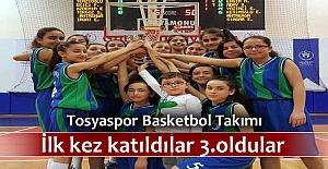 Tosyaspor Basketbol Takımı Kastamonu 3.sü Oldu