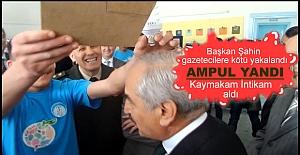BAŞKAN KAZIM ŞAHİN'İN KAFASINDA AMPUL YANDI