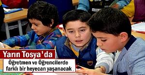 Tosya'da Yarın Okullarda Karne Günü