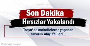 Tosya'da yaşanan Hırsızlık Olayı failleri Ankara'da Yakalandı