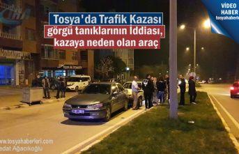 Tosya'da meydana gelen Trafik kazasında 1 kişi yaralandı