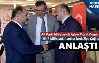 AK Parti ve MHP Kastamonu Milletvekili Adayları anlaştı