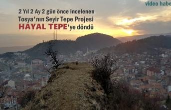 Tosya'nın Seyir Tepe Teras Projesi Yapılmayı Bekliyor