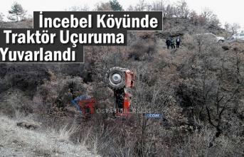 Tosya'da Traktör Kazası