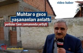 Tosya Mimar Sinan Mahallesi Muhtarı Hırsızlık Olayı