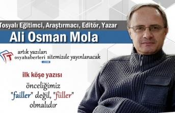 Ali Osman Mola Köşe Yazıları ile Artık Haber Sitemizde