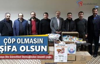 Çöp Olmasın Şifa Olsun ilaç Kampanyası Tosya'da Başladı